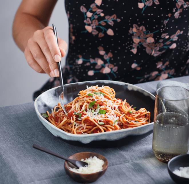 Foto van Spaghetti Napoli door WW