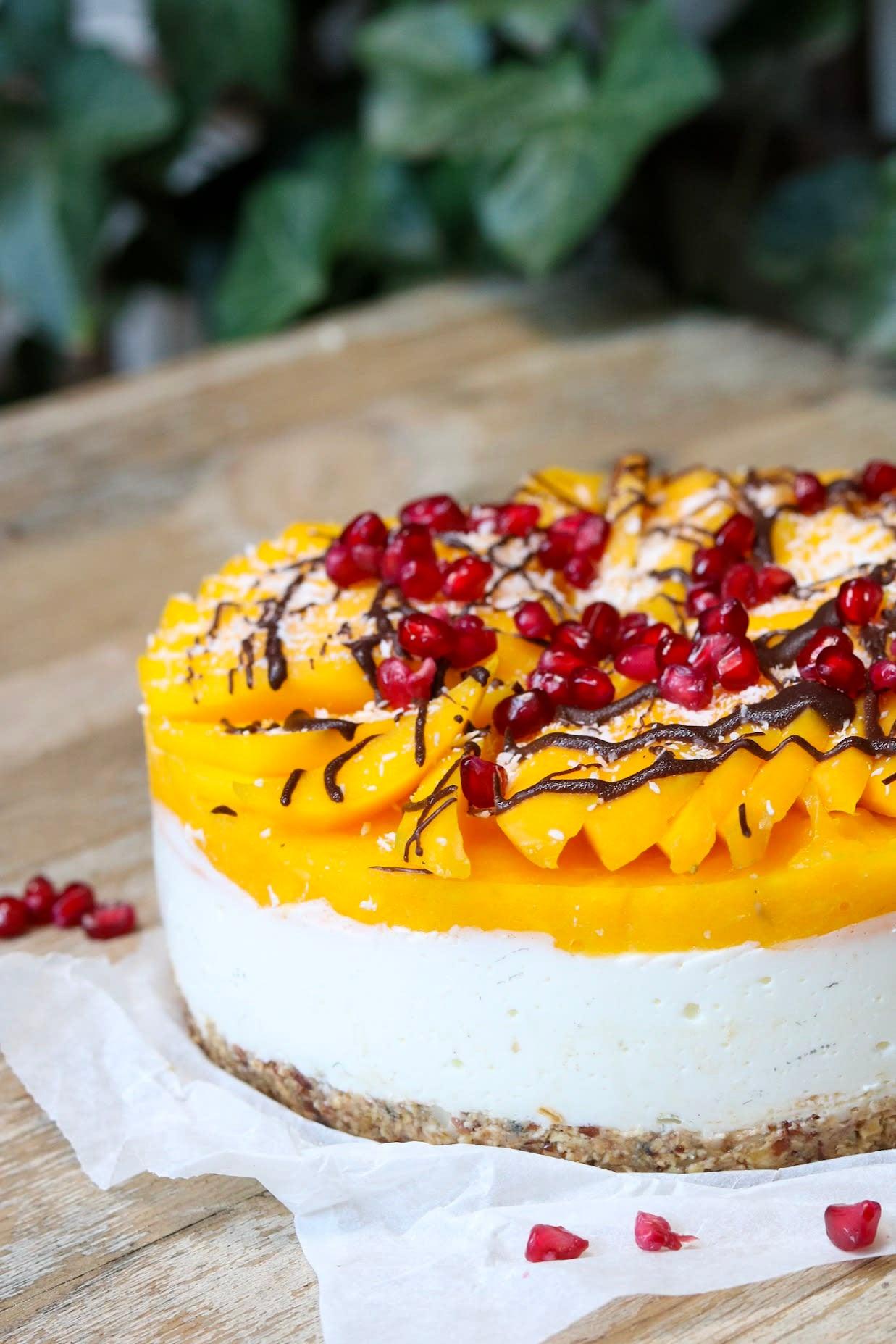 Foto van Mango lentetaartje, Oh My Pie door WW