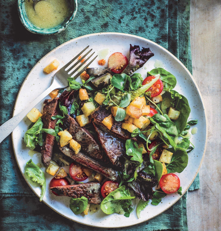 Foto van Salade van bieflapjes & aardappel door WW