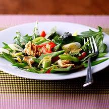 Foto van Salade van sugarsnaps en tonijn door WW