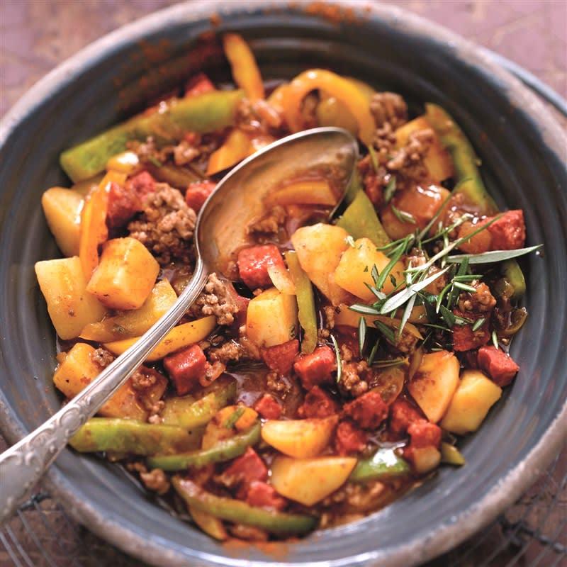 Foto van Spaanse aardappelgoulash door WW