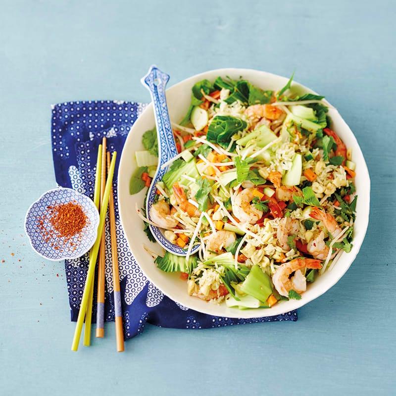 Foto van Aziatische salade door WW