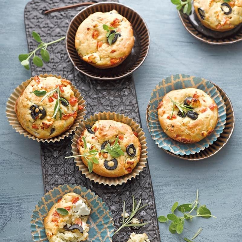 Foto van Griekse muffins met feta door WW