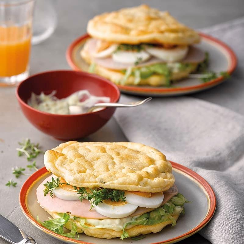 Foto van Sandwich met ei, ZeroPoint kookboek door WW