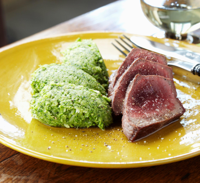 Foto van Pascale Naessens' Steak met broccoli door WW