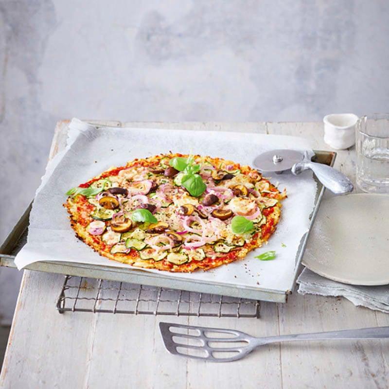 Foto van Bloemkoolpizza verdura door WW