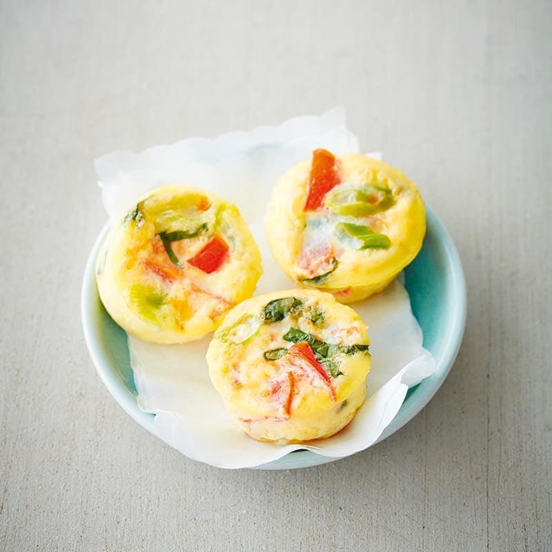 Foto van Mini-omeletjes uit de oven door WW