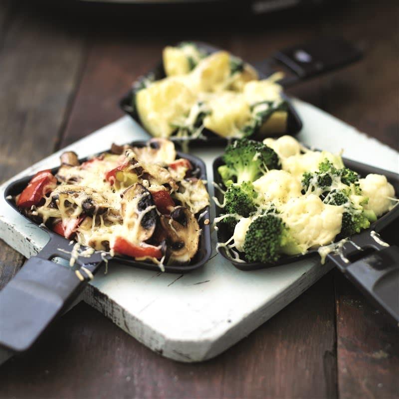 Foto van Raclette met groenten door WW