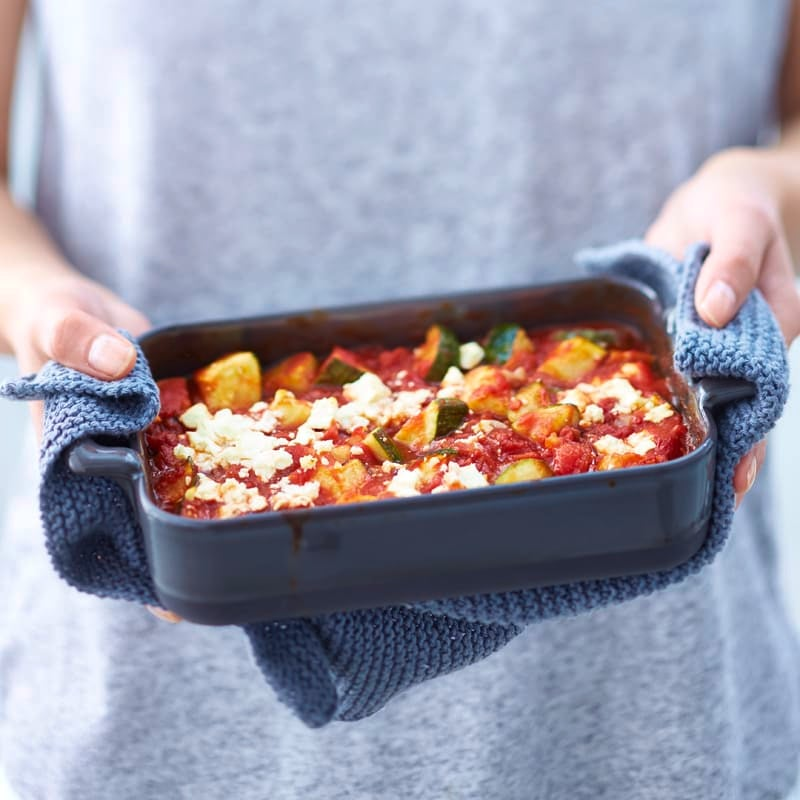 Foto van Courgette-tomatenovenschotel door WW
