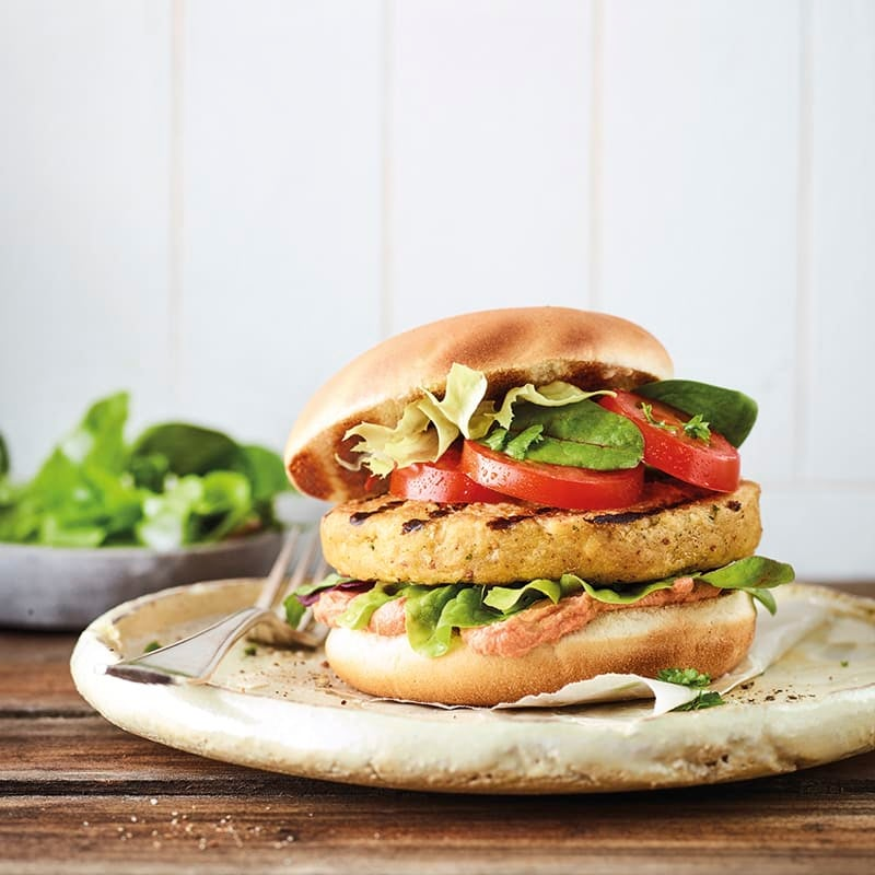 Foto van Oriëntaalse falafelburger door WW