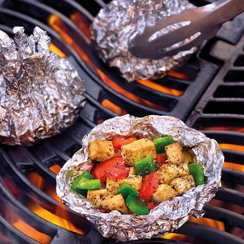 Foto van Pittige tofu-paprikapakketjes door WW