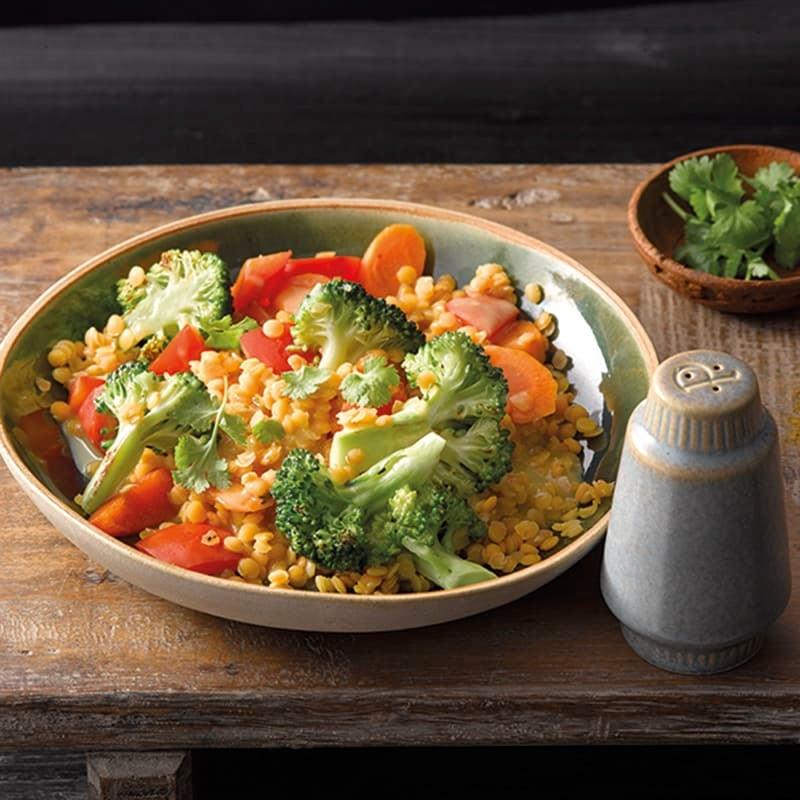 Foto van Linzenschotel met broccoli door WW