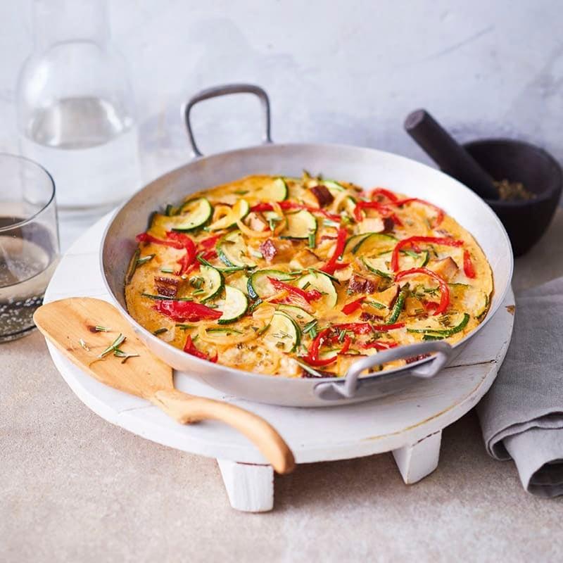 Foto van Vegetarische frittata door WW
