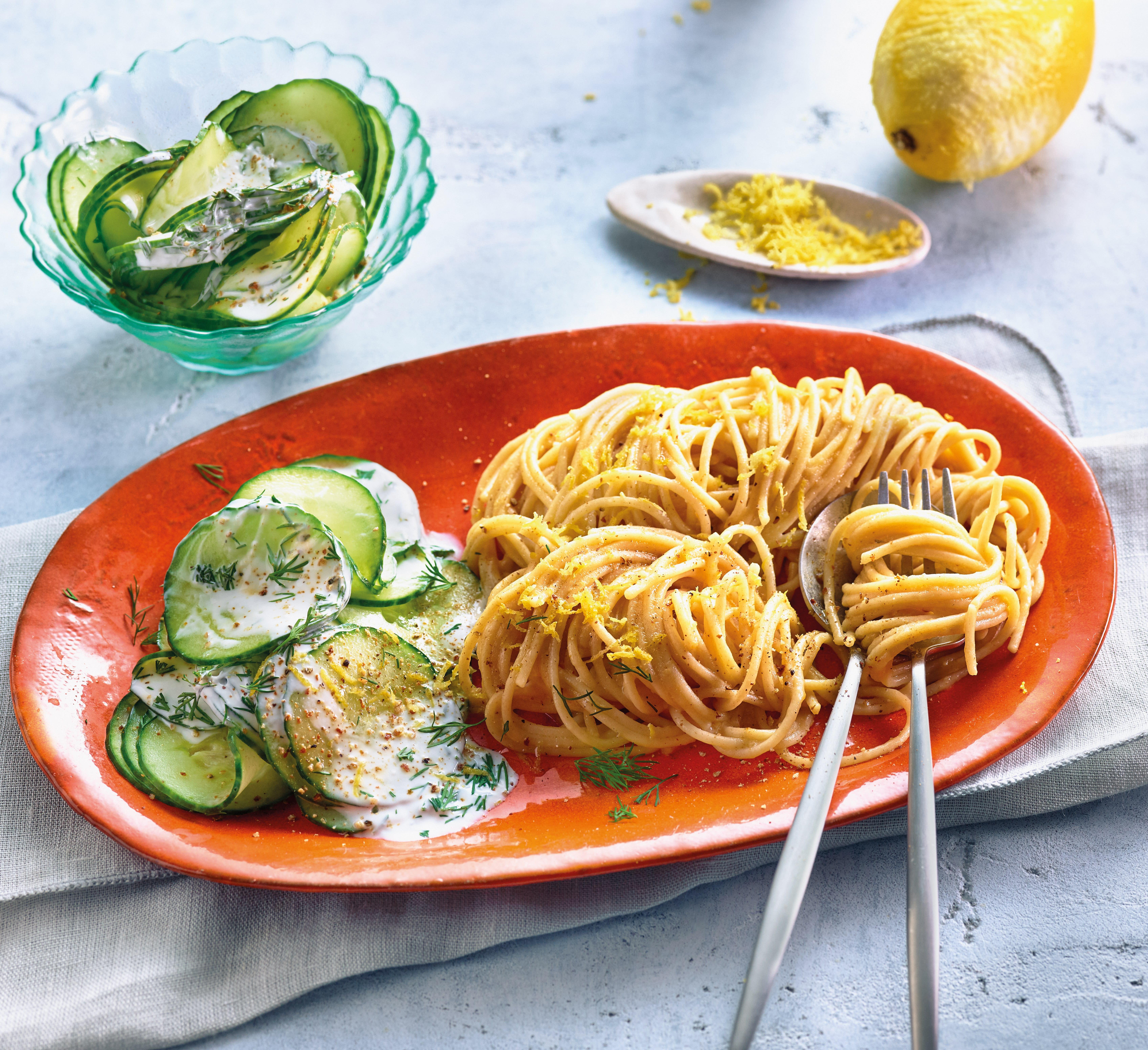 Foto van Spaghetti al limone door WW