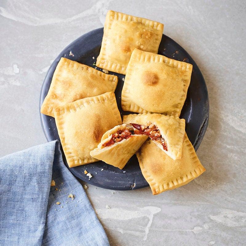 Foto van Pizzakussentjes met ham door WW