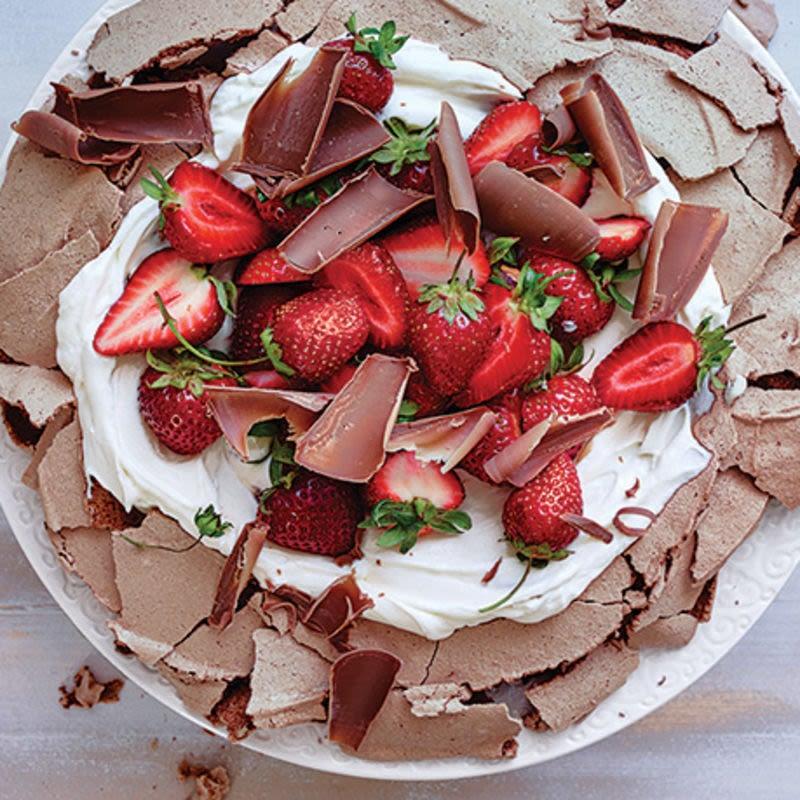 Foto van Chocolade pavlova door WW