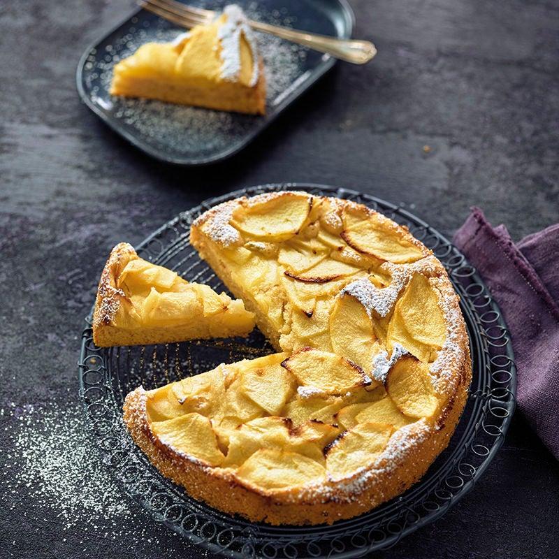 Foto van Smeuïge appeltaart van witte bonen door WW
