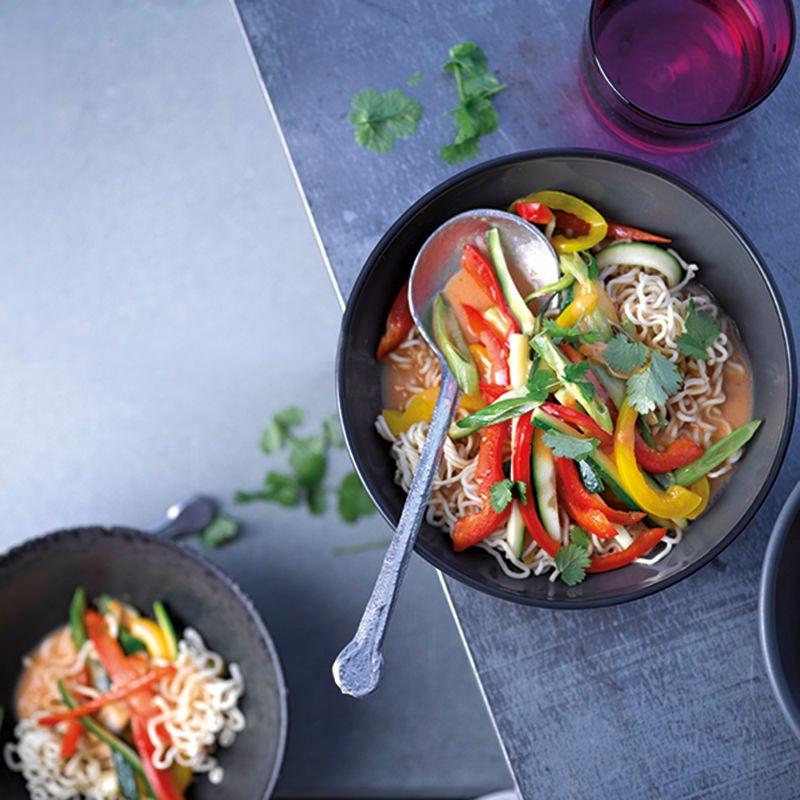 Foto van Snelle Thaise curry met noedels door WW
