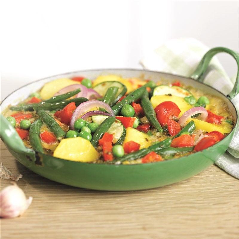 Foto van Kleurrijke frittata met groenten door WW