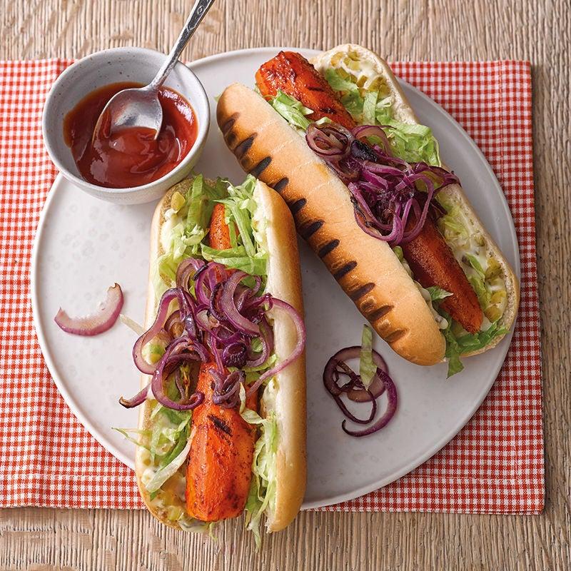 Foto van Wortel-hotdogs door WW