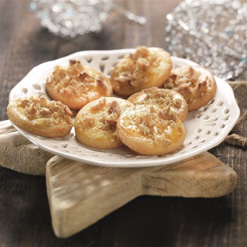 Foto van Sinaasappelkoekjes met walnoten door WW