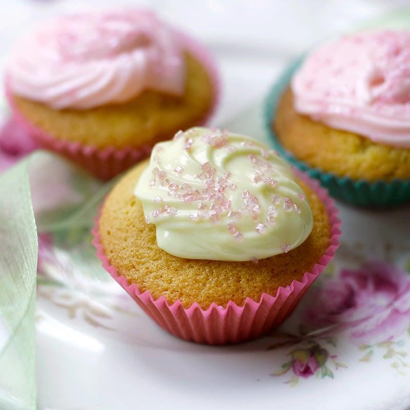 Foto van Vanille cupcakes door WW
