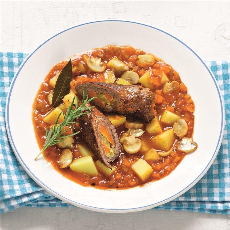 Foto van Rollade met aardappelen en groenten door WW