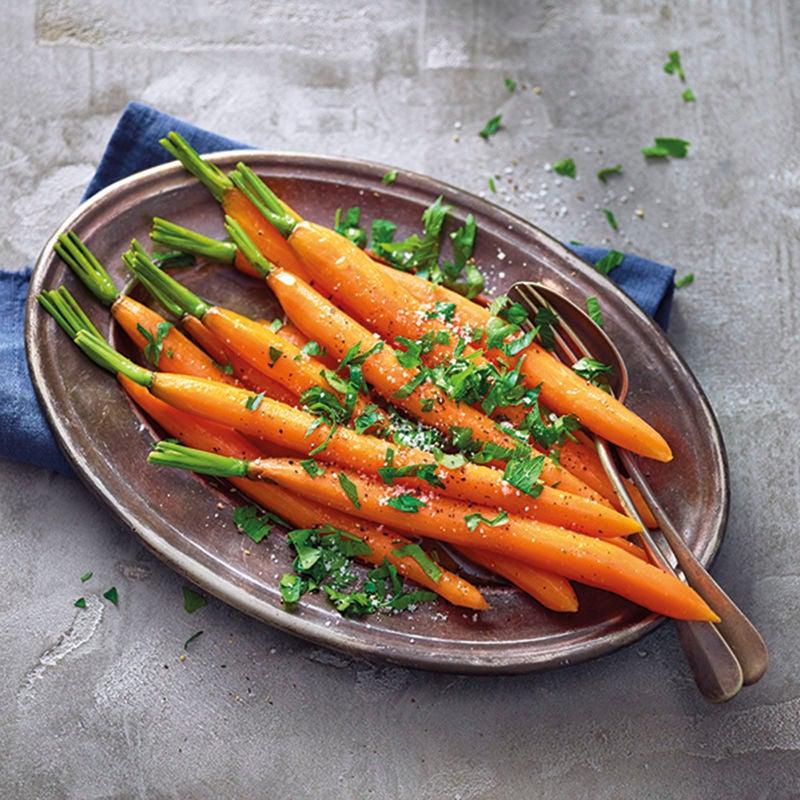 Foto van Geglaceerde wortels door WW