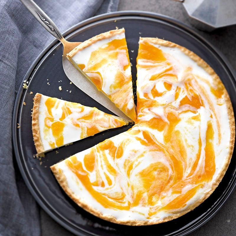 Foto van Mango-yoghurttaart door WW