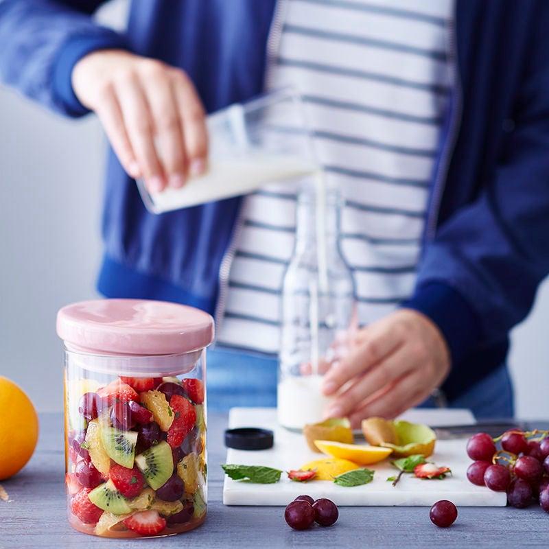 Foto van Fruitsalade met yoghurt door WW