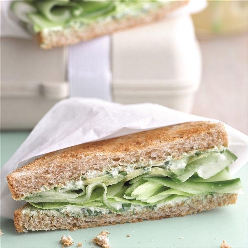 Foto van Groene sandwich door WW