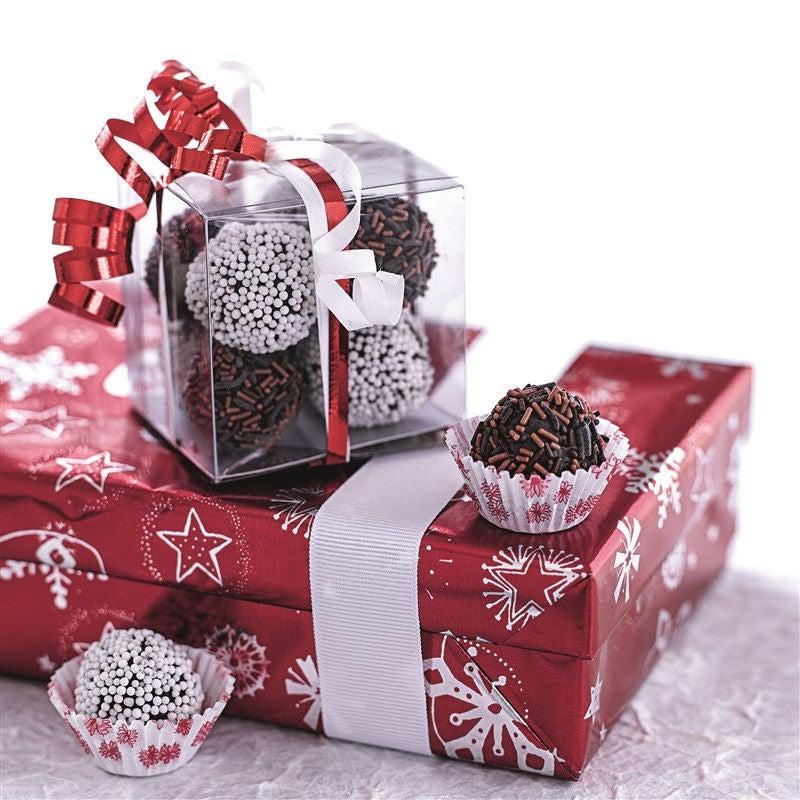 Foto van Chocolade-pindakaastruffels door WW