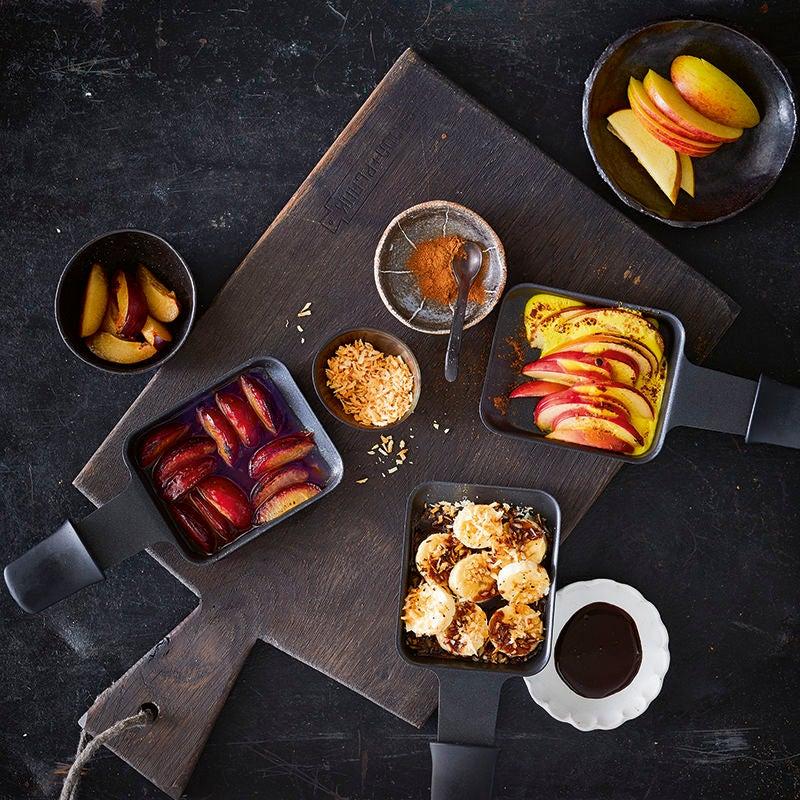 Foto van Raclette met aardappelen door WW