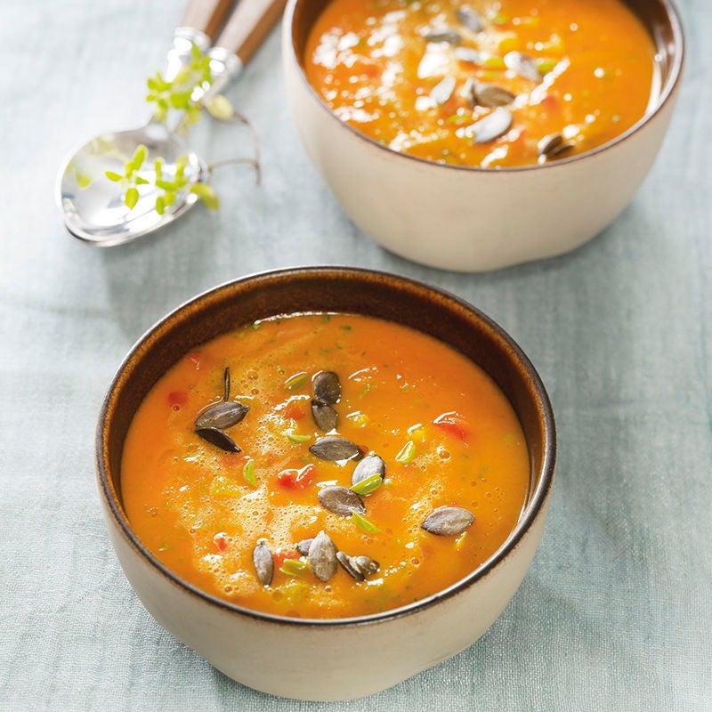 Foto van Romige paprika soep door WW