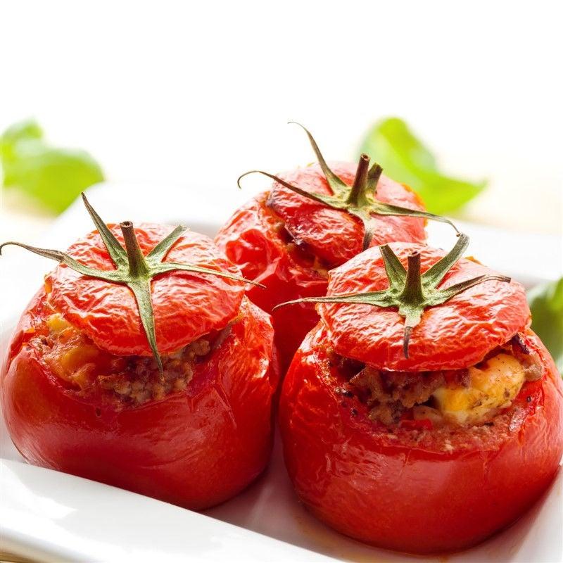 Foto van Gevulde tomaten met feta door WW