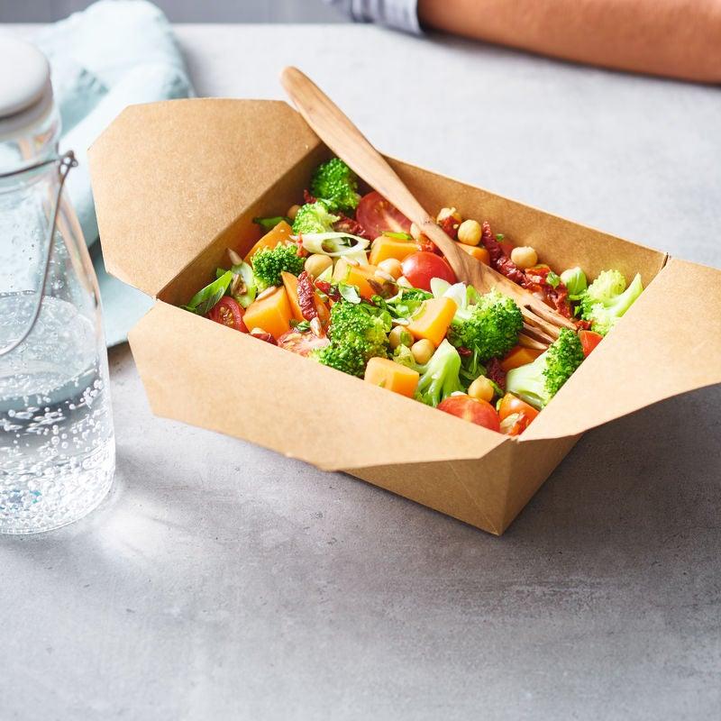 Foto van Zoete-aardappelsalade to go door WW