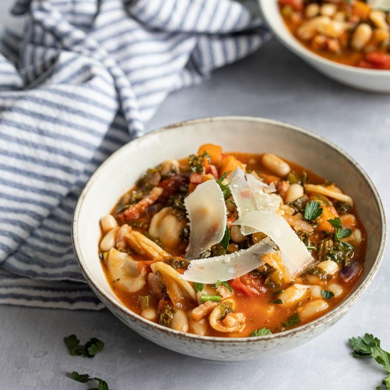 Foto van Miljuschka's groentestoof met pasta door WW