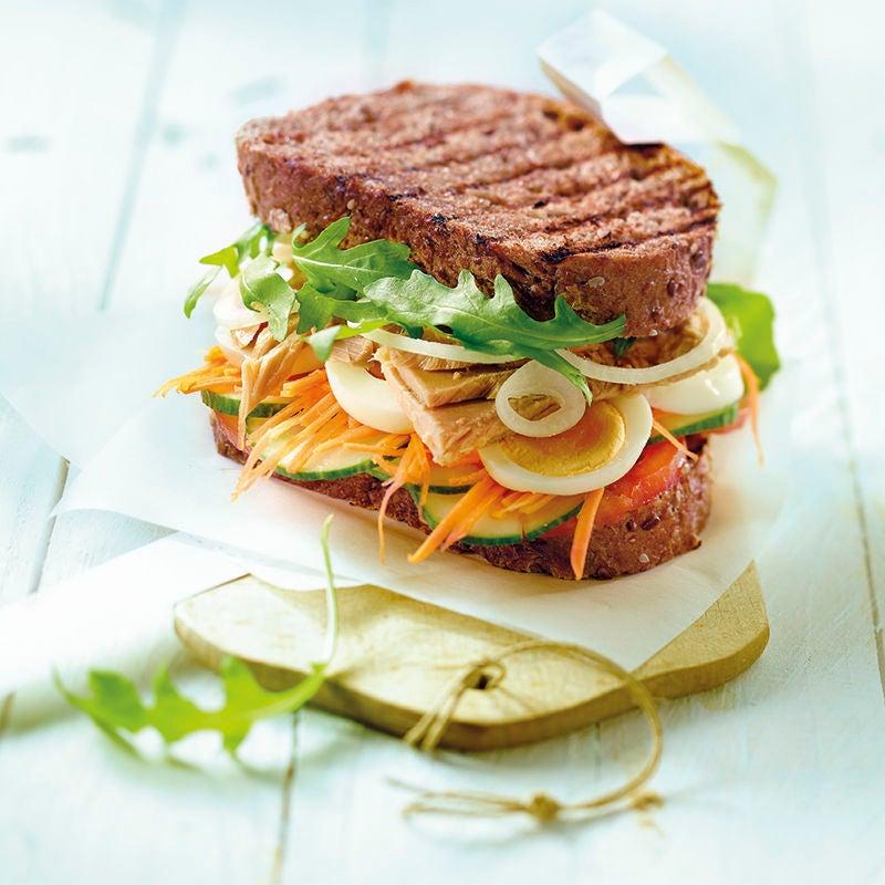 Foto van Smos groente en tonijn door WW