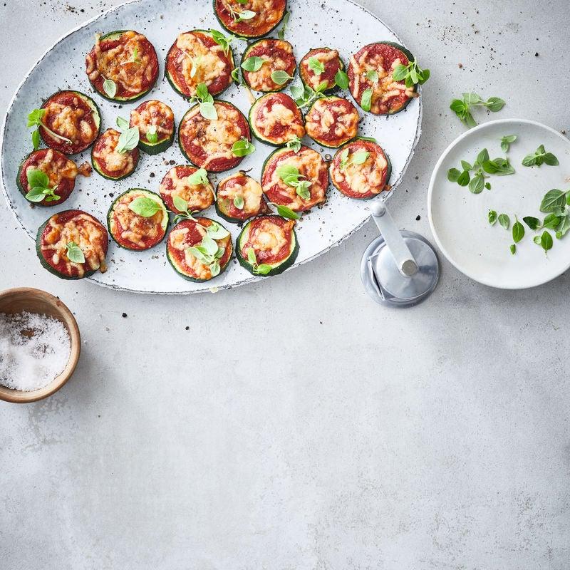 Foto van Courgette-pizzasnack door WW