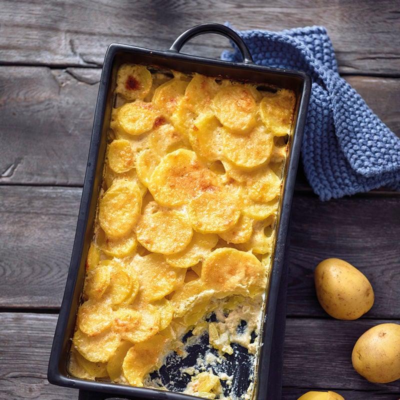 Foto van Klassieke aardappelgratin door WW